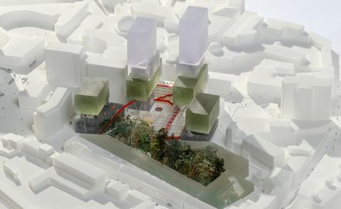 OMA's plans for central Eindhoven and more upcoming projects
