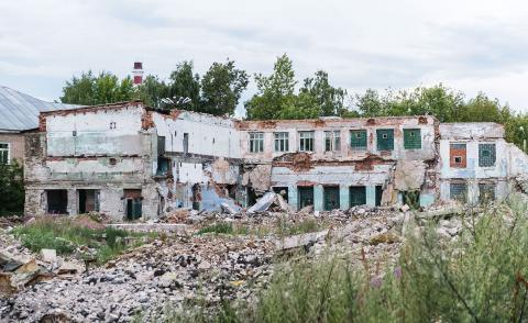 Young architects tasked to rethink Russia's abandoned industrial sites in Kazan