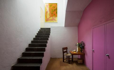 Luis Barragán's Mexico City home sets the scene for an intimate art exhibition