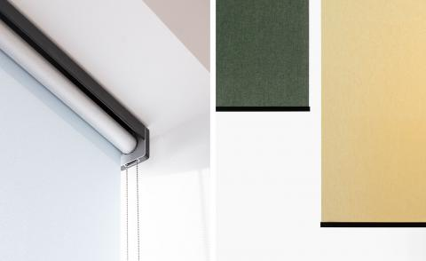 Kvadrat's blind collection plays with transparency and tone