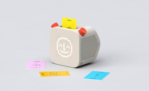 The Yoto Player, designed by Pentagram
