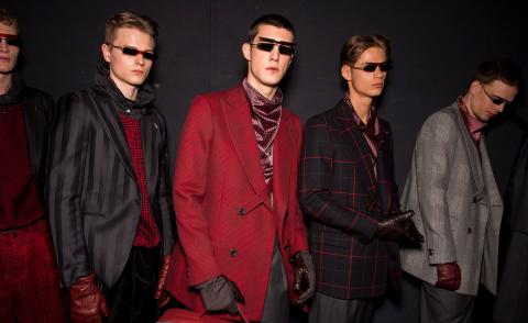 Emporio Armani A/W 2020 Milan Fashion Week Men's