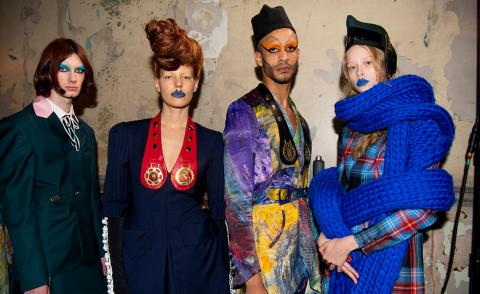Charles Jeffrey LOVERBOY A/W 2020 London Fashion Week Men's