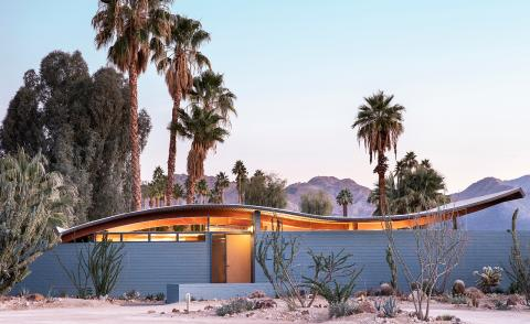 Stayner Architects revive Wave House – a lost Palm Springs gem
