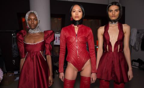 Area A/W 2020 New York Fashion Week Women's