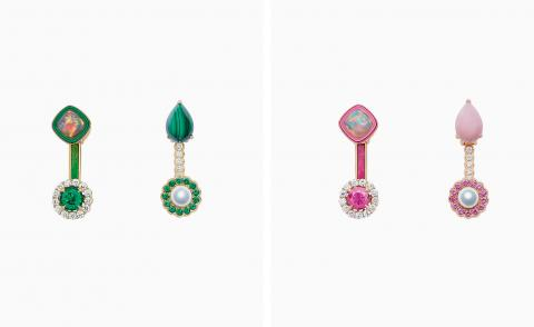 Odd couples: the elegant imperfection of off-kilter jewels