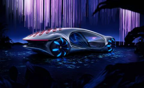 Mercedes teams up with the makers of Avatar to envision a connected future