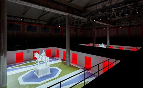 Scene-stealing runway sets from the A/W 2020 menswear shows