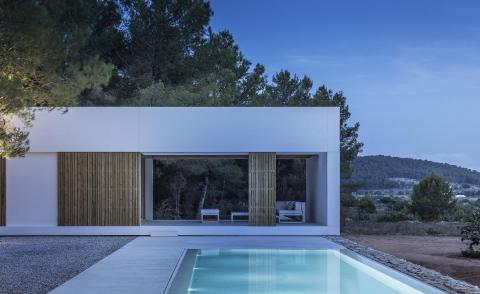 Marià Castelló's five volume house is inspired by the island culture of Ibiza