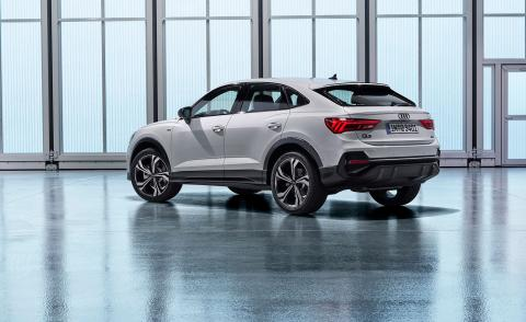 Audi's new Q3 Sportback goes against the tide