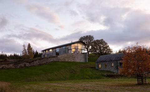 Remote Scottish Highland residence showcases area of outstanding beauty