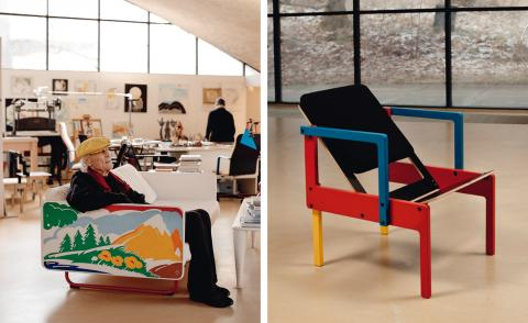 Tour Yrjö Kukkapuro's studio – a temple to the art of sitting down