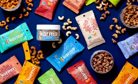 Karma Nuts delivers healthy snacking