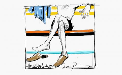 Draw attention: Pierre Hardy's shoe sketches for Hermès