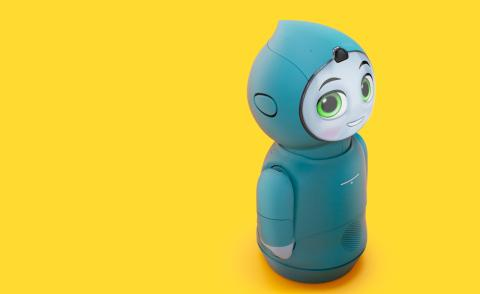 Yves Béhar designs robot called Moxie, a companion for the curious child