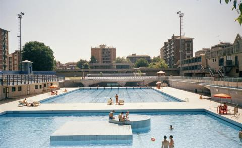Dive into Milan's modernist swimming pools in pictures