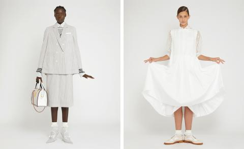 Why seersucker is integral to Thom Browne's design DNA