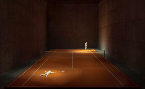 Life lessons from Elmgreen & Dragset's tennis court