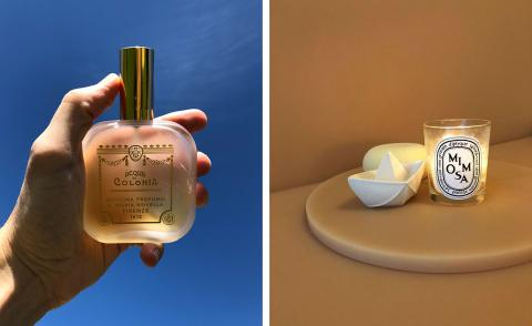 Design figures on the scents they find sanctuary in at home