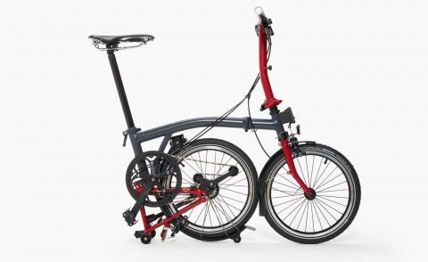 Haute wheels: Oliver Spencer bikes up with Brompton