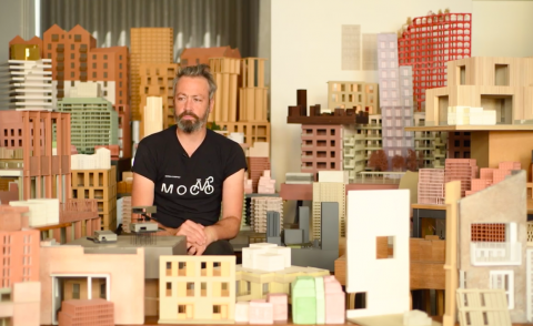 Morris+Company shares architectural reflections on modelmaking