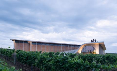 Undulating Moravian winery bridges culture and winemaking