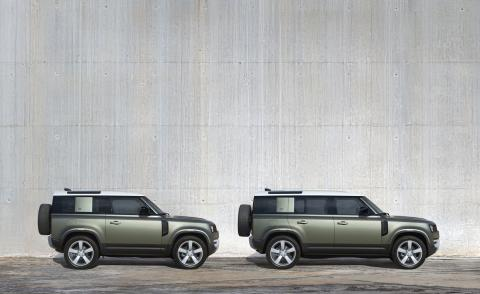 Latest Land Rover Defender stays in shape