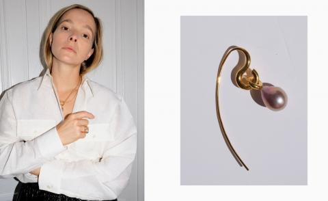 Charlotte Chesnais launches a jewellery collection with Matches Fashion