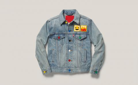 Brick trick: Lego and Levi's customisable collaboration