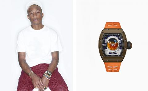 Space man: Pharrell Williams on producing a time machine with Richard Mille