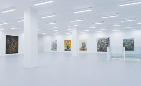 The much-anticipated Saatchi Yates gallery opens its doors in London