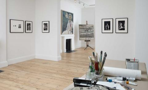 Billy Childish takes over Lehmann Maupin's first London gallery