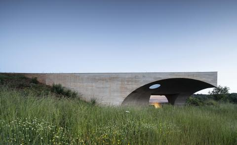 Deep Impact: Portugal's newest hotel is buried under the earth's surface