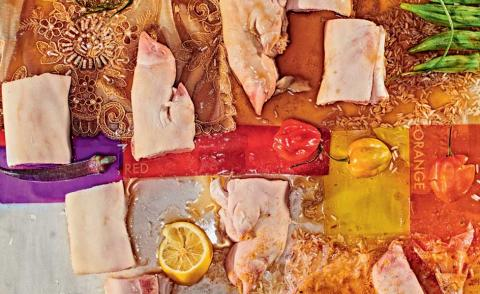 Abstract artist Frank Bowling – who recently received a Knighthood – shares his slow-cooked favourite for our Artist's Palate recipe series