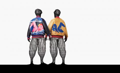 Issey Miyake and Tadanori Yokoo's pop-culture inspired collaboration