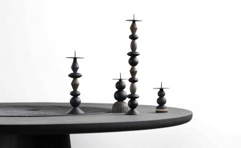 Candle Holders by Ludovica+Roberto Palomba for Zanat Lockdown Dialogues