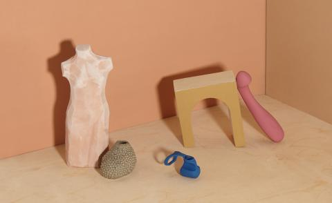 Sculptural sex toys made by womxn for womxn