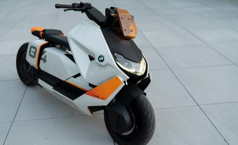 BMW's new electric scooters have graphic visual appeal
