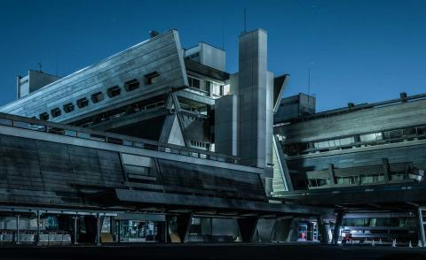 Tom Blachford creates a cinematic dystopia from Japan's brutalist past