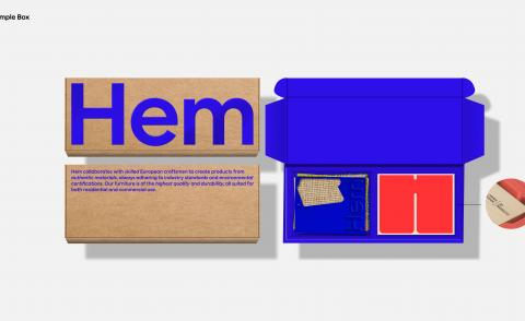 Hem unveils new brand identity by Made Thought