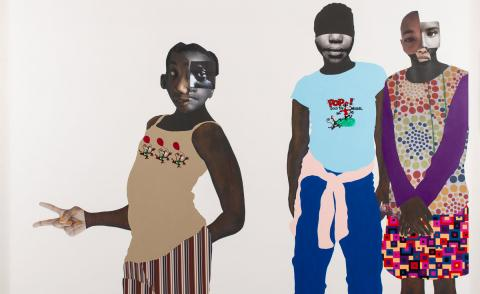 The powerful collages of artist Deborah Roberts