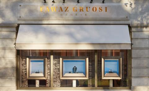 Fawaz Gruosi opens Art Deco-inspired London boutique
