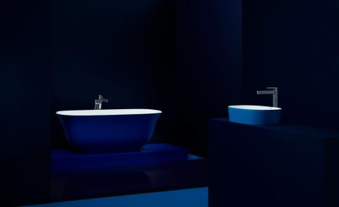 Wavelengths colour palette by V&A Bathrooms