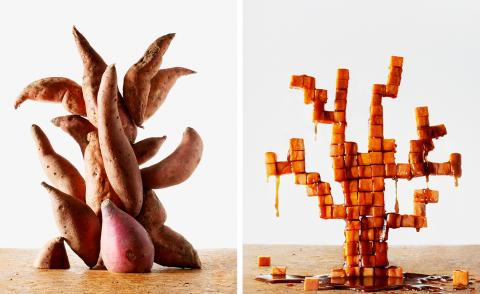 Artist's palate: Charles Gaines' Southern-style candied yams