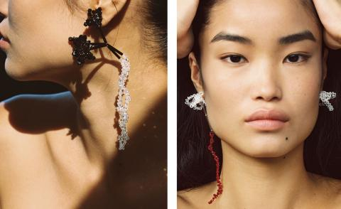 Helena Thulin's floral jewellery