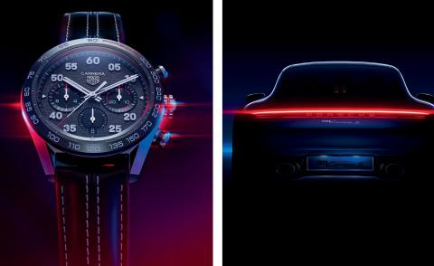 Tag Heuer and Porsche unite for a new watch