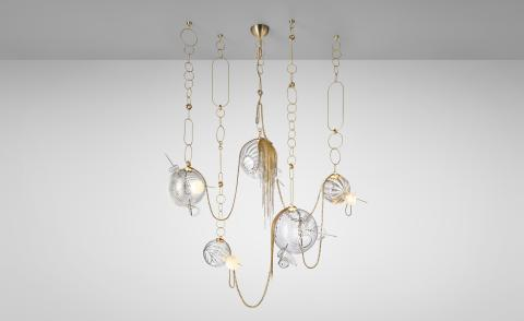 Lindsey Adelman Paradise chandelier