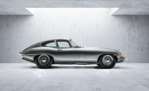 Series 1 Jaguar E-Type by Helm and Bill Amberg