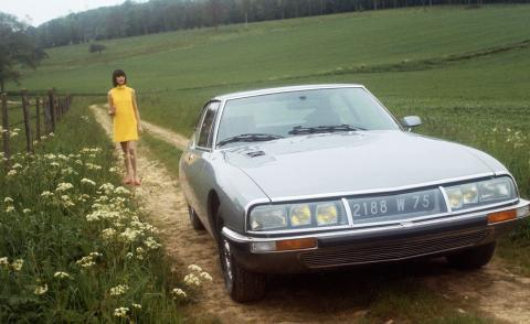 The Citroen SM, introduced in 1970
