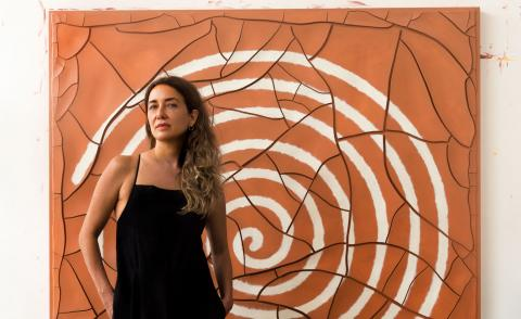 At home with Brazilian artist Adriana Varejão